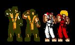 'Lost Soul NES' aka MK Ninja SF2Nes style