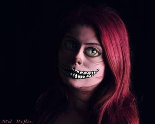 Cheshire Grin by MelHeflin