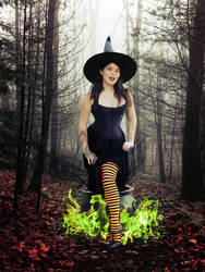 Witchy Business by MelHeflin