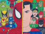 Marvel Super Heroes VS DC Universe - Heroes