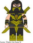 Scorpion (Injustice) - Custom LEGO Minifigures