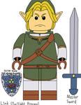 Link (Twilight Princess) - Custom LEGO Minifigures