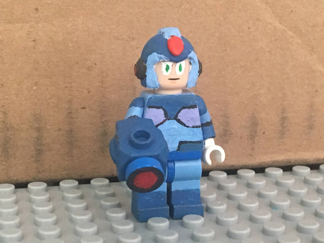Mega Man X - Custom LEGO Minifigures by MushroomHedgehog on DeviantArt