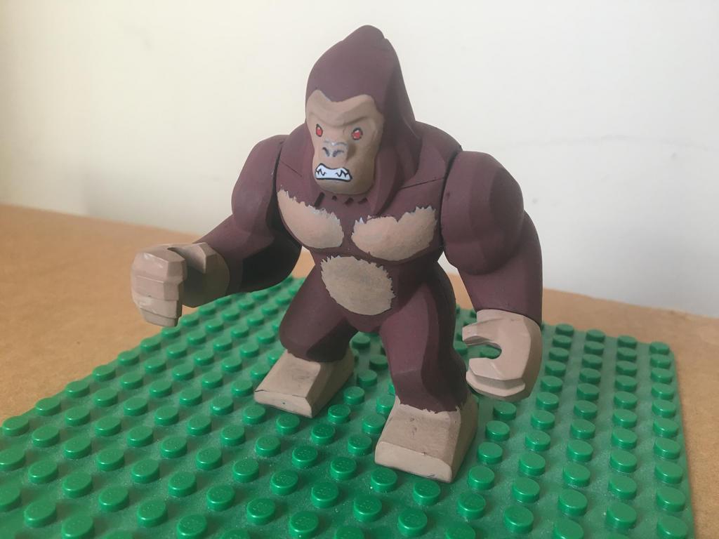 George Rampage Custom Lego Minifigures By Mushroomhedgehog On