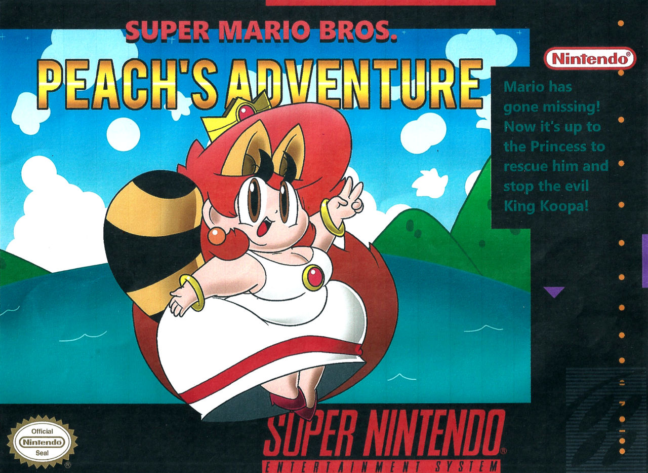 Super Mario Bros : Peach's Adventure Demo! (Desc ) by