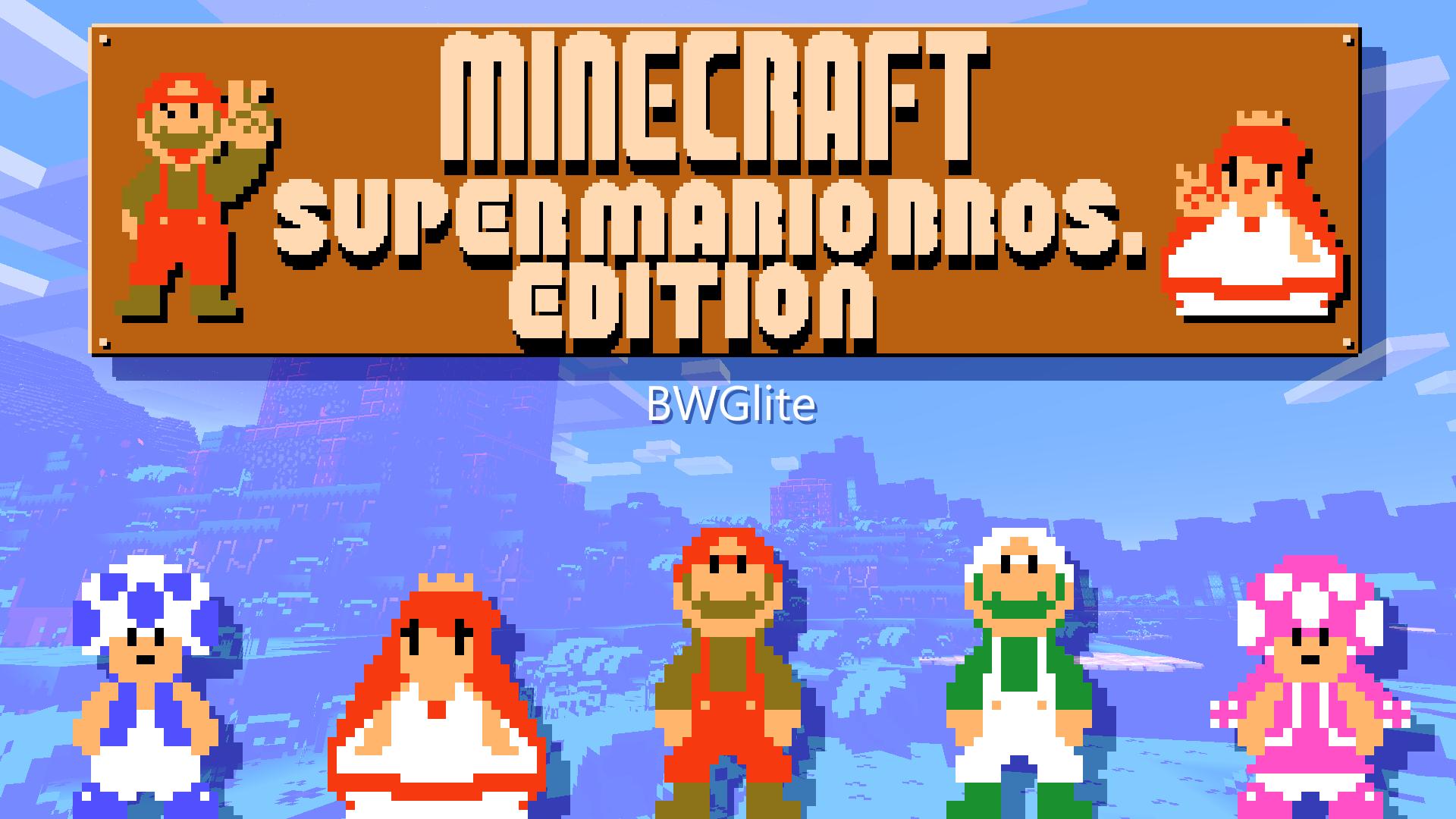 Minecraft- Super Mario Bros. Edition 10.104! [Desc] by BWGLite on