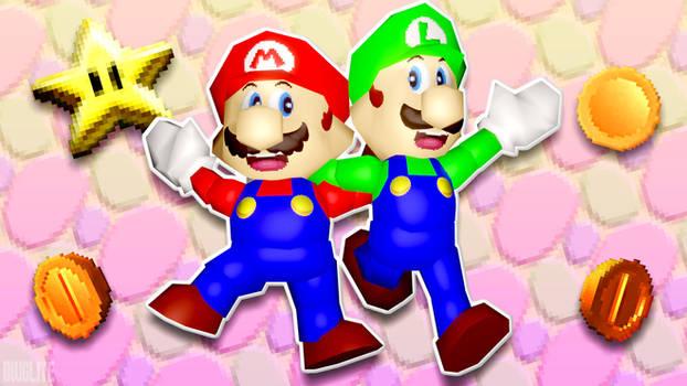 Ultra 64 Mario Brothers!