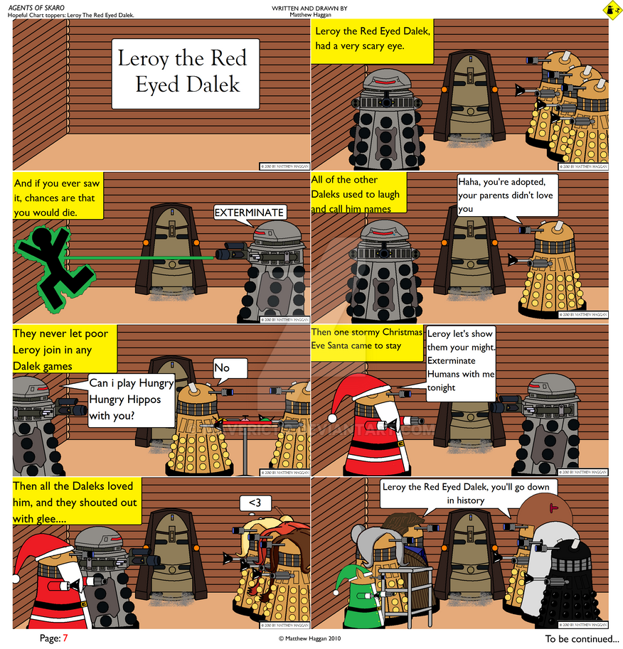 A Dalek Christmas Song by maveric112 on DeviantArt