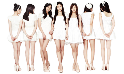 A-Pink Pre-debut Render by angiftw