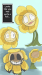 Flowey Sketches