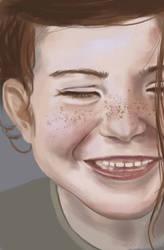 Smiling by kAMRiS