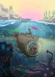 Josef and Berta Underwater by kAMRiS
