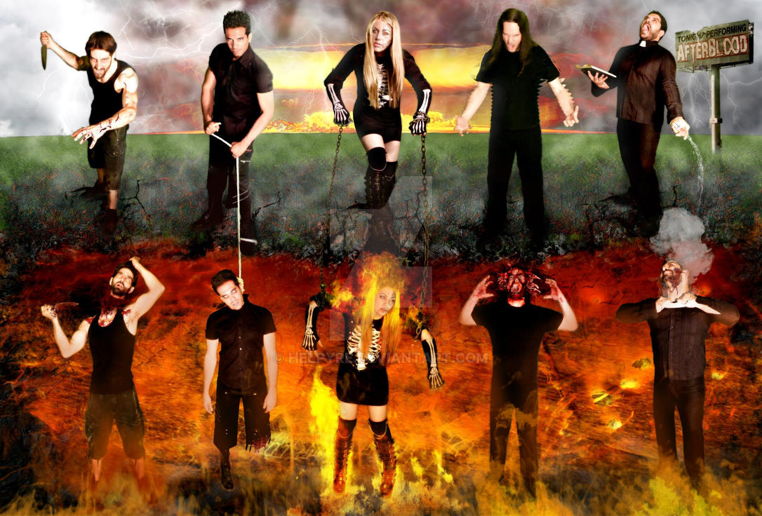 AfterBlood-promo pic 2013 by HelPyre