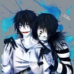 Laughing Jack X Jeff the Killer