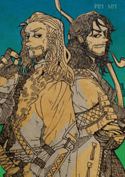 FILI and KILI by JaneDoemmmmm