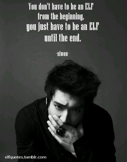 siwon quote about ELFS by choisiwonfangirl on DeviantArt