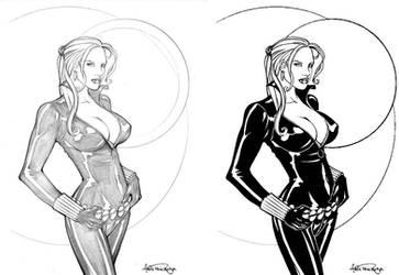 Black Widow - Inked