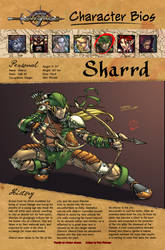Bio page: Sharrd by JBourlett
