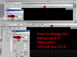 Mini Tutorial: How to change the bgcolor in PMDe