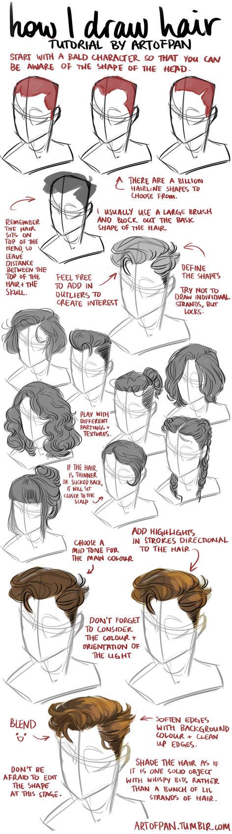 Hair Tutorial by artofpan