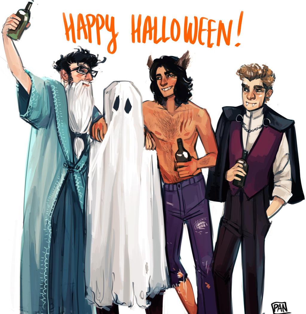 happy halloween by artofpan happy halloween by artofpan - Happy Halloween Com