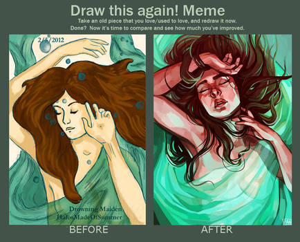 Draw This Again: Drowning Maiden