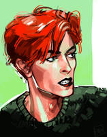 Bowie by artofpan