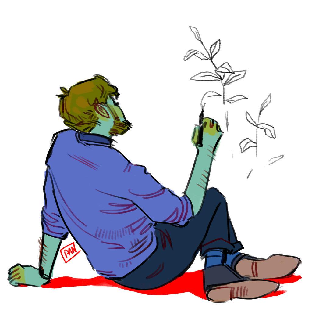 Planty by artofpan