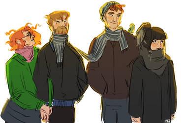 Berlin Squad by artofpan