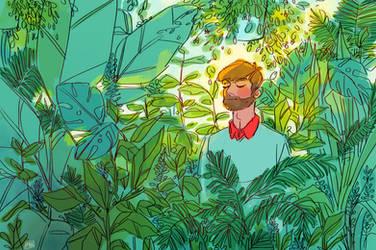 Rainforest Room by artofpan