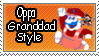 Oppa Granddad Style stamp by Swampington