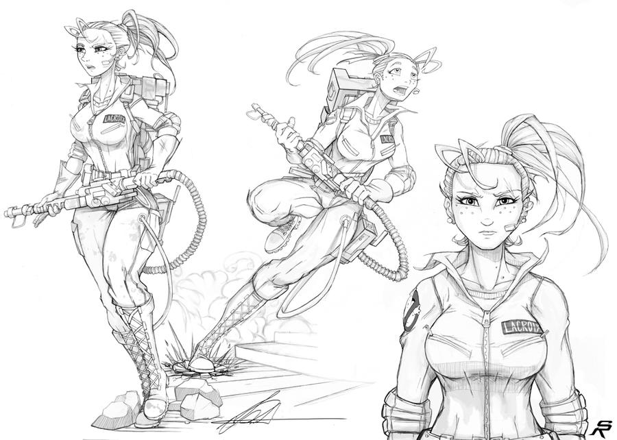 proton pack princess. by SRYMoND