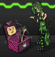 Kat in the Box by saralexxia