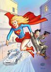 Supergirl VS bandit