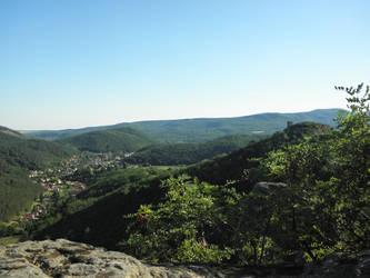 Landscape of Sirok (Hungary)