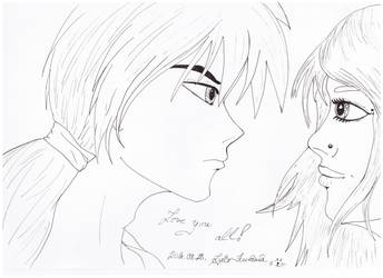 Kenshin and one unknown girl