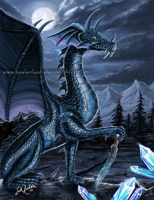Dark Dragon of Dreams by keelerleah