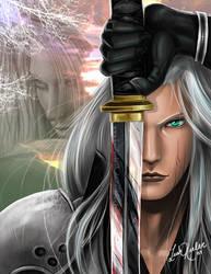 .: Sephiroth :. by keelerleah