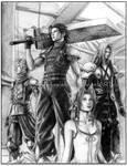 FF VII Crisis Core by keelerleah
