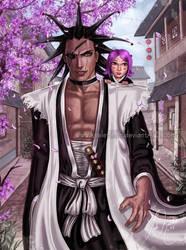 Kenpachi - Warrior Within by keelerleah