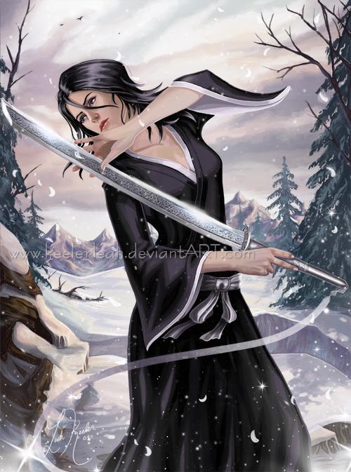 Rukia - Purity Within by keelerleah