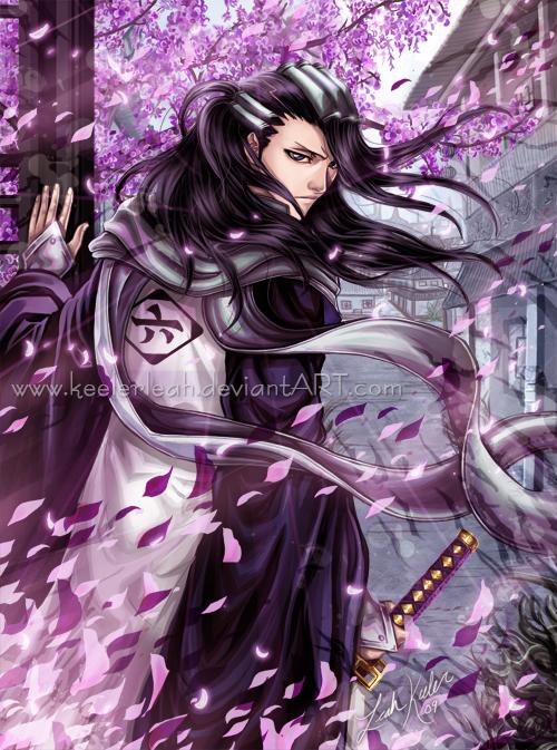 Bleach - Byakuya: Looking Back by keelerleah