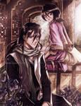 Bleach - Byakuya and Rukia