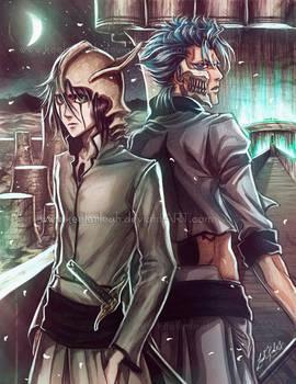 Bleach Grimmjow and Ulquiorra