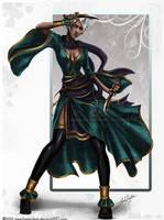 Jade Warrior by keelerleah