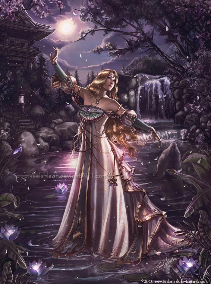 Dancing on Diamond Shores by keelerleah