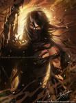 Bleach - Ichigo- Getsuga - by keelerleah