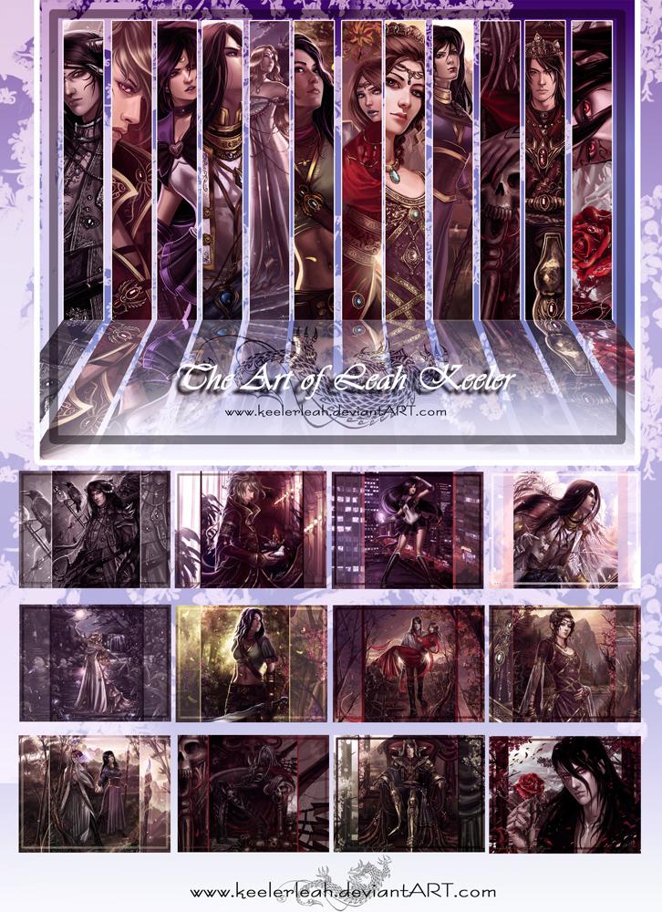 Fantasy Art Calendar II by keelerleah