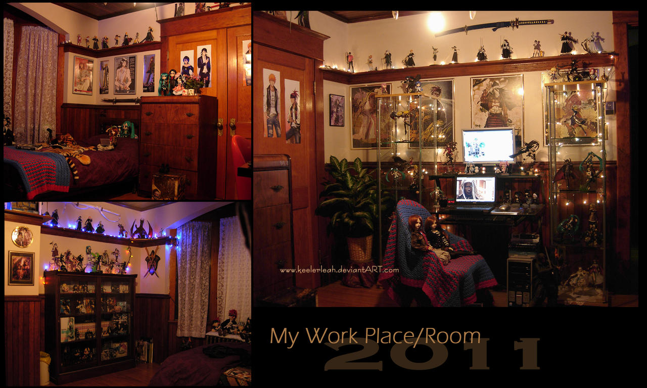 My Room - Workspace 2011 by keelerleah