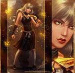 Bleach - Golden Lightning by keelerleah